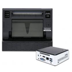 Mitsubishi CP-D90DW and SelFone Wireless Print Station Bundle
