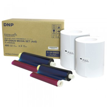 DNP DS620A 4x6 Print Kit Bundle