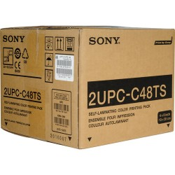 Sony 4x8 Perforated Tear and Share  Print Kit for Sony CX1 and DNP SL10